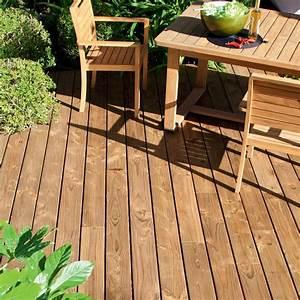 planche bois douglas naterial marron l400 x l14 cm x With leroy merlin bois terrasse