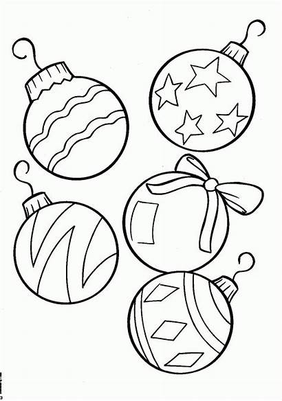 Coloring Printable Tree Ornaments Ornament
