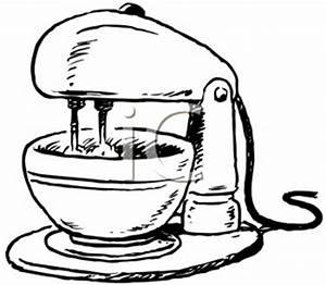 Stand Mixer Clipart Clipart Suggest