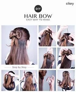 #DIY easy hairstyles #easy hairstyles for medium hair # ...
