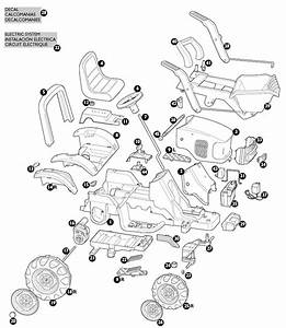 Peg Perego Case Ih Power Scoop Tractor Parts