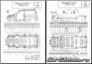 Dimension Peugeot Partner : peugeot partner van 1997 2003 2dr body dimensions ~ Medecine-chirurgie-esthetiques.com Avis de Voitures