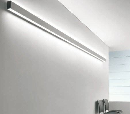 wall mounted linear light linear wall mounted fluorescent light fixture for offices and shops tendo 1 15463 schmitz