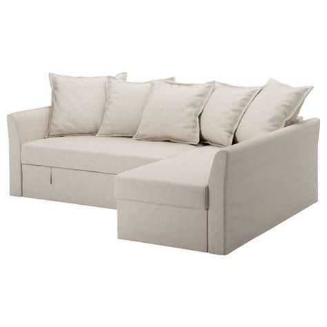 canapé futon convertible ikea holmsund corner sofa bed nordvalla beige ikea