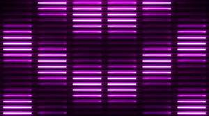 Neon Lights Flashing VJ Wall Stage Background — Stock