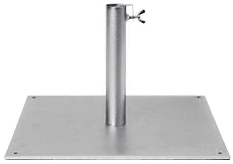 pied plaque acier pied parasol dess fr
