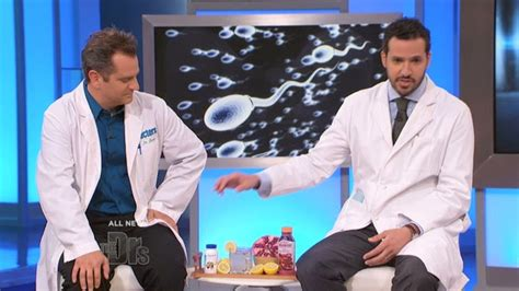 Foods to Boost Your Man's Sperm Count | The Doctors TV Show