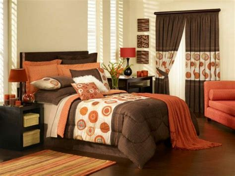orange bedroom decor ideas  pinterest orange