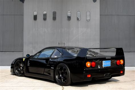 sale  ferrari  stunning black  black