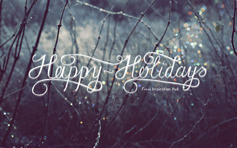 happy holidays wallpaper  inspiration hut