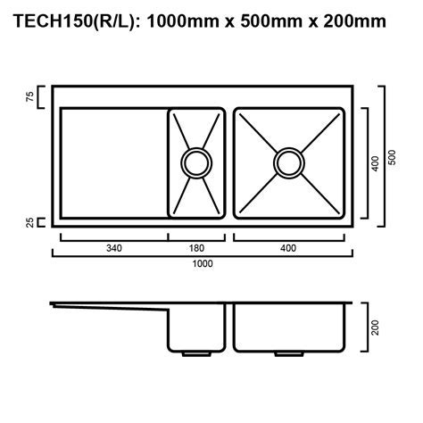 Package   Tech 150 Sink Package With Accessories   The