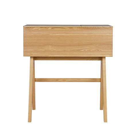 bureau bois de bureau secrétaire en bois open up drawer