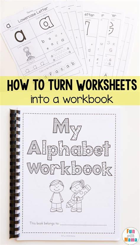 homeschool organization how to bind a book abc themes