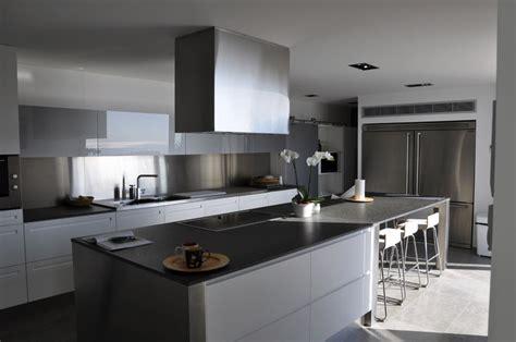 cuisine villa déco system rénovation d 39 une villa contemporaine