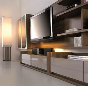Meuble Salon Moderne : panneau tv design meuble tv design meuble t l bas de ~ Premium-room.com Idées de Décoration
