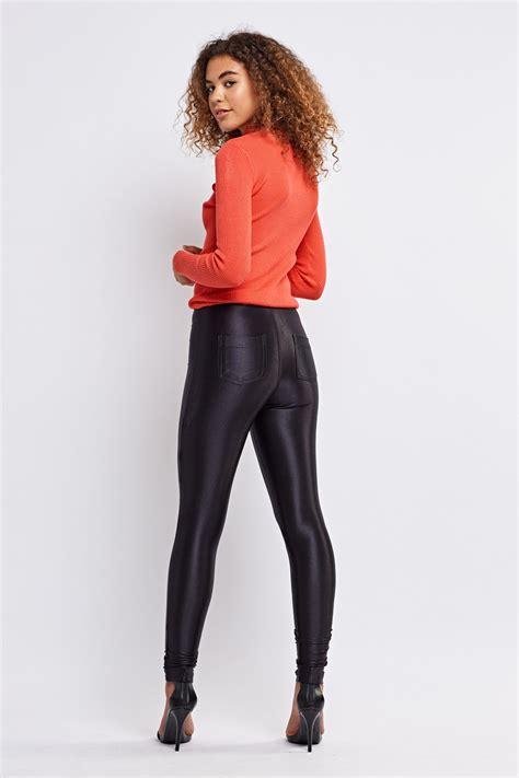 Black Super Skinny Jeggings - Just $6
