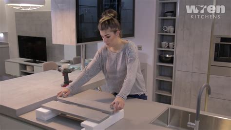 How To Attach A Kitchen Drawer Front. Kitchen Installation Guide. Queen Bed With Trundle And Storage Drawers White Drawer Shelf Best Contact Paper For Kitchen Toddler Twin The Pulls Bedside Tables Cane Acrylic Makeup Inserts Bugs In My