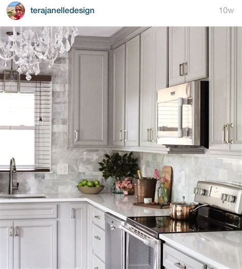 gray backsplash white cabinets 63 best images about kitchen remodel on pinterest stove