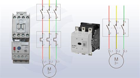 contactor or motor starter what is the difference