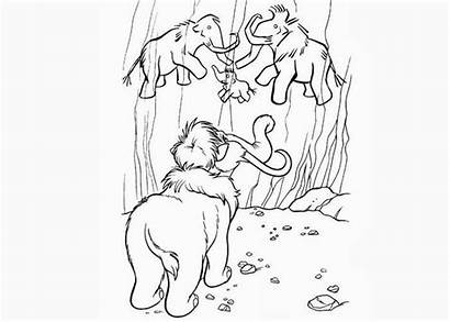 Coloring Peaches Ice Age Cartoon Books