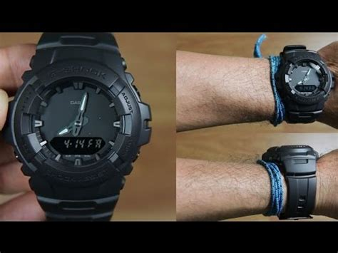 G Shock G 100bb 1adr G Shock casio g shock g 100bb 1a special black unboxing
