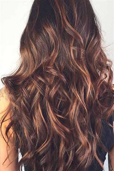 hair color   highlights  dark brown hair