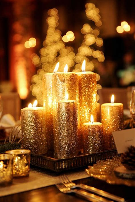 fabulous gold christmas decorating ideas