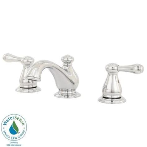 Delta Leland Kitchen Faucet Home Depot by Delta Leland 8 In Widespread 2 Handle Mid Arc Bathroom