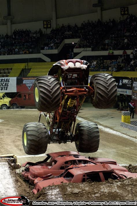 monster truck show hton va hton virginia monster jam february 5 2011 7pm