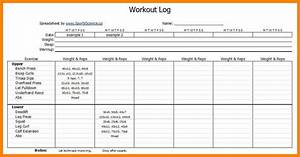workouts log templates printable in pdf excel template With personal trainer workout template