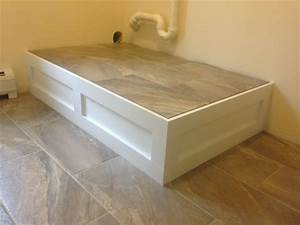Pedestal for washer dryer! DIY Pinterest Pedestal