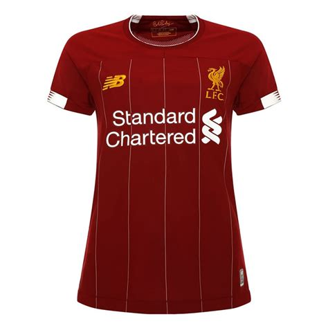 Pick up liverpool third jerseys to round out your collection, or create a custom new balance jersey with your own name and number. 2019/20 Liverpool Home Soccer Jersey For Woman
