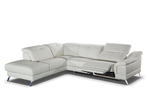 canapé cuir avec relax électrique canapé d 39 angle relax électrique en cuir sardaigne ii