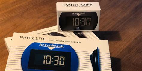 park lite mini park lite und park mini die elektronischen parkscheiben aufdemmarkt de produkttests und