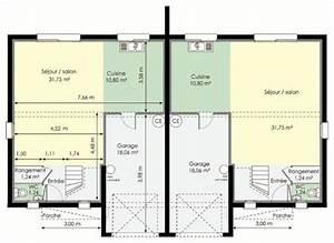 Prix Location Garage : maison double d tail du plan de maison double faire construire sa maison ~ Medecine-chirurgie-esthetiques.com Avis de Voitures