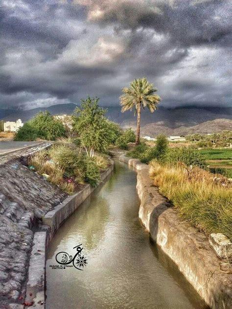 beautiful falaj daris nizwa city oman scenery pretty