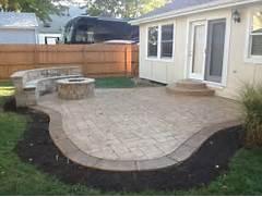 Adding Pavers To Concrete Patio Decorate Project Traditional Patio Kansas City By Concrete Concepts LLC