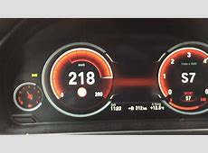 BMW X5 xDrive30d F15 0220 kmh Multifunction Instrument
