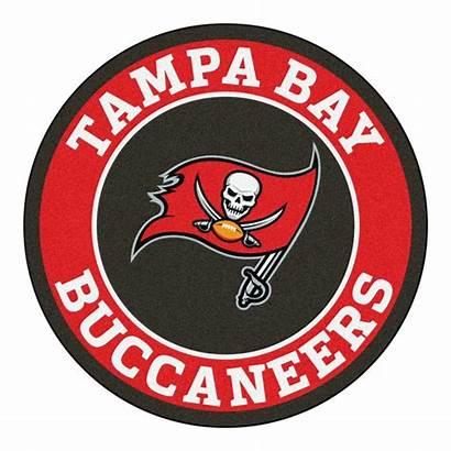 Buccaneers Tampa Bay Nfl Round Logos Area