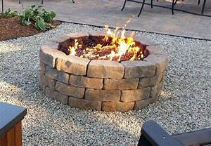 15, Outstanding, Cinder, Block, Fire, Pit, Design, Ideas, For, Outdoor