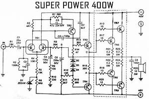 Power Amplifier 400w Audio Circuit 2sc2922 2sa1216