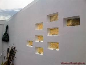 Verputzte Wand Tapezieren : pietre di vetro farbe special gold bilder ~ Markanthonyermac.com Haus und Dekorationen