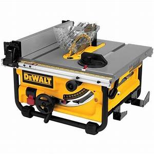 Dewalt Dwe7480 10inch Compact Job Site Table Saw With