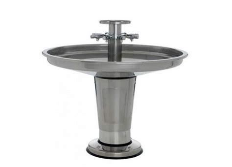 water fountain sink combo izh sanispray wash fountain individual front push bib