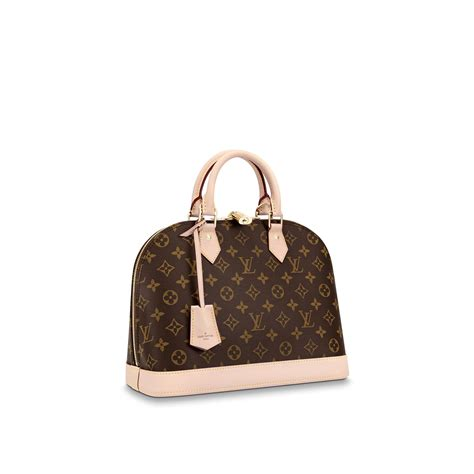 alma pm monogram canvas handbags louis vuitton