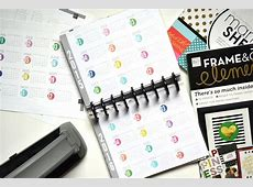'YEAR AT A GLANCE' free printables for The Happy Planner
