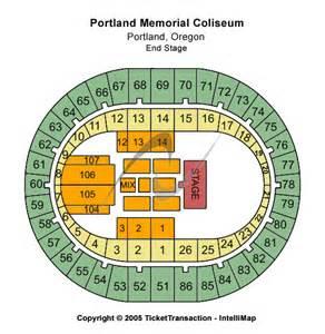 Portland Memorial Coliseum Seating Chart
