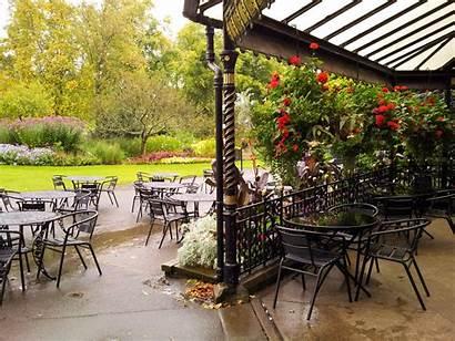 Cafe Outside Outdoor Restaurant Park Bar Furniture
