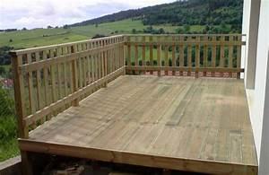 atout bois terrasse aerienne en pin traite autoclave With lovely idee de terrasse exterieur 4 photo suivante