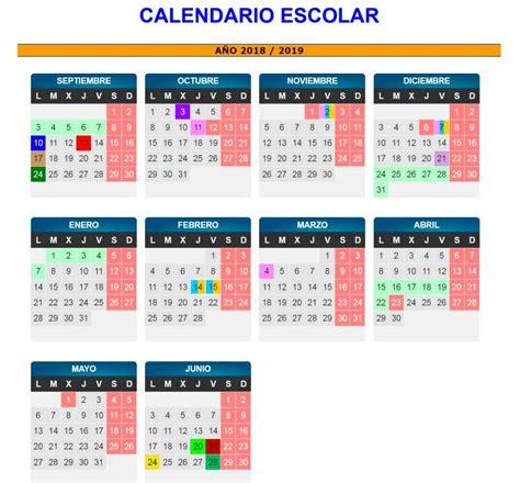 calendario escolar de zaragoza